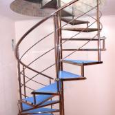 Изготовление винтовых лестниц, монтаж винтовых лестниц